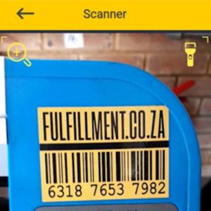 Scan sticker