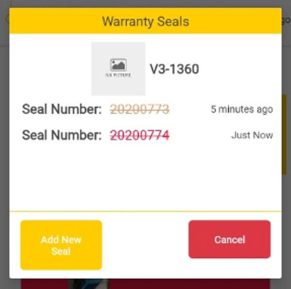 Remove Warranty Seal
